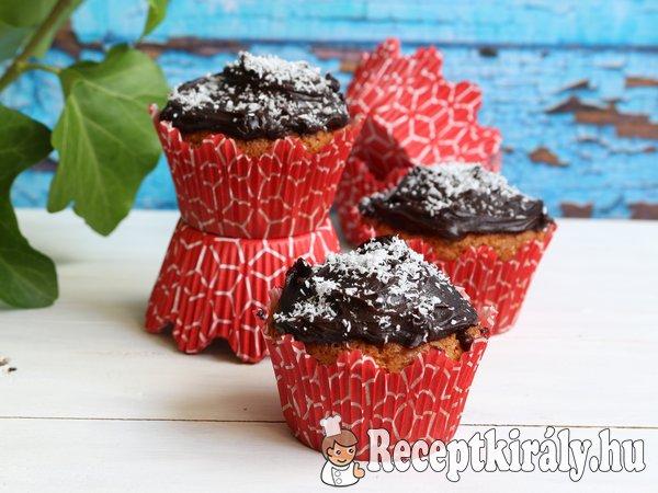 Kókuszos csokoládés muffin