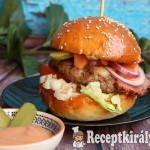 Tarjás házi burger 2