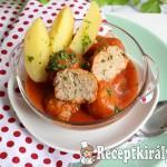 Zöldfűszeres paradicsomos húsgombóc 2