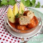 Zöldfűszeres paradicsomos húsgombóc 3