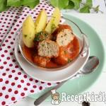 Zöldfűszeres paradicsomos húsgombóc 1