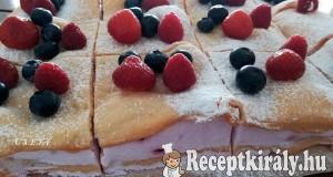 Dimbes-dombos áfonyás süti
