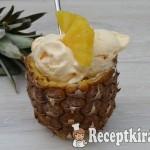 Gyors vega ananász fagylalt
