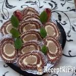 Gesztenyés keksztekercs 2