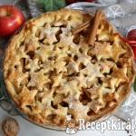 Karácsonyi almás pite 1