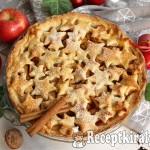 Karácsonyi almás pite