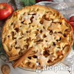 Karácsonyi almás pite 2