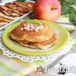 Krémtúrós almás palacsinta 1
