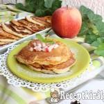 Krémtúrós almás palacsinta 2