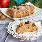 Őszi almás-diós sütemény 1