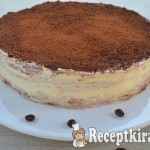 Tiramisu torta- gluténmentes 1