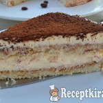 Tiramisu torta- gluténmentes