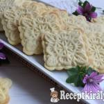 Vaníliás sütipecsétes keksz
