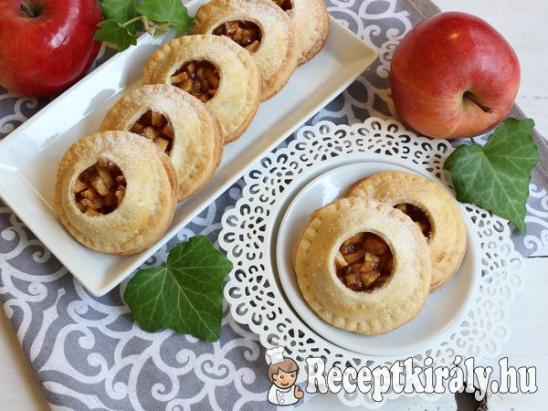 Almás mini piték