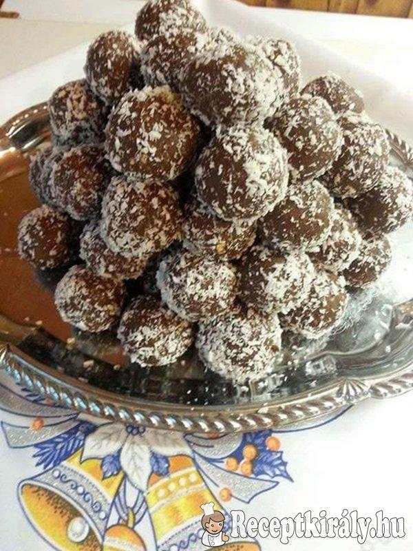 Kókuszgolyó Erzsike konyhájából