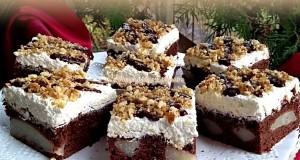 Körtés krémes sütemény