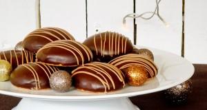 Mézes puszedli csokoládémázzal