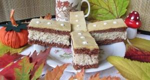 Sárga mázas kókuszos sütemény