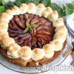 Szilvás máglyarakás torta 1