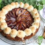 Szilvás máglyarakás torta 2