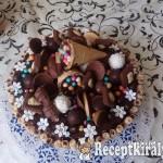 Csokiözön torta 1