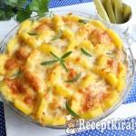 Fűszeres húsgombócok sajttal és burgonyával 3