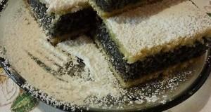 Mákos pite Erzsike konyhájából