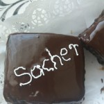 Mini sacher torta