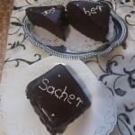Mini sacher torta 3