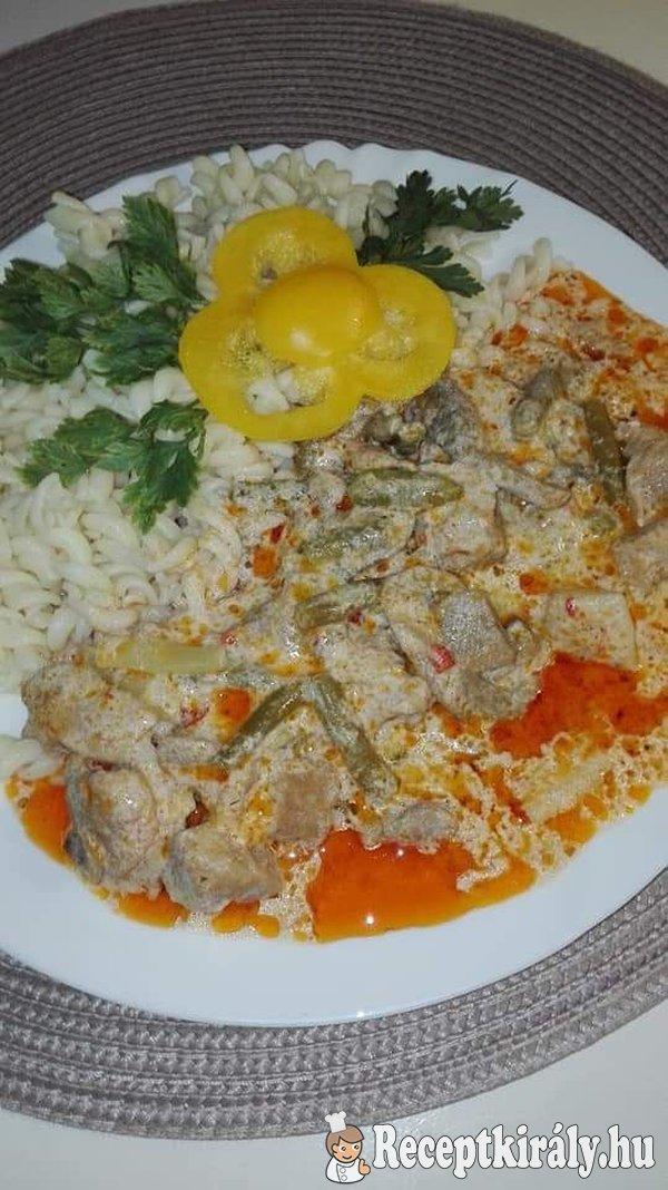 Temesvári Sertéstokàny Erzsike konyhájából