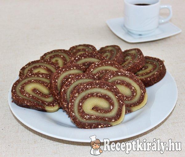 Marcipános keksztekercs
