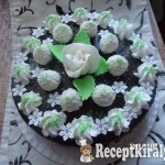 Raffaello torta 3