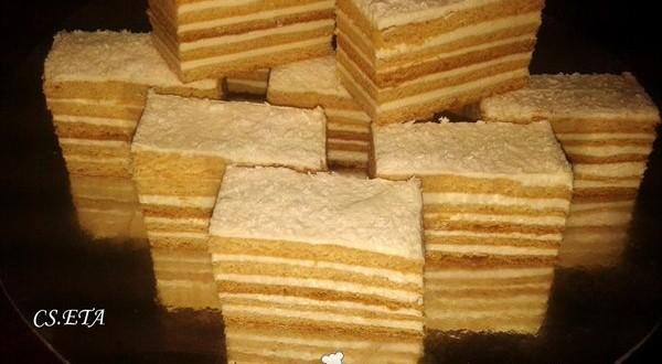 Békebeli mézes sütemény Eta módra