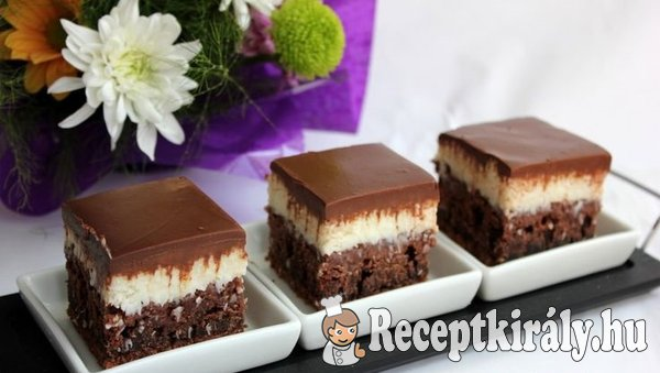 Csokis kekszkocka kókuszkrémmel