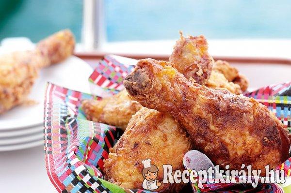 Fűszerbundás csirkecombok