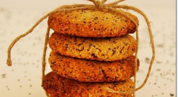 Gluténmentes narancsos keksz