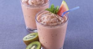 Görögdinnyés kivis smoothie