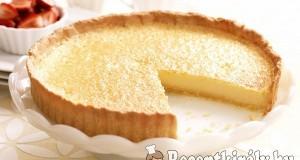 Túrós citromos pite