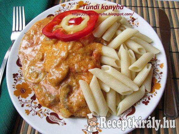 Bakonyi sertésszelet Tündi konyhájából