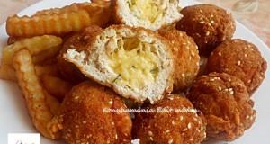 Kijevi szezámmagos csirkegolyó