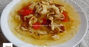 Frittatensuppe – húsleves palacsintatésztával