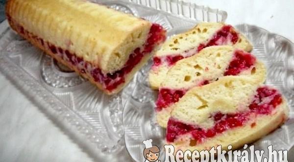 Ribizlis őzgerinc sütemény