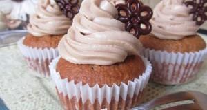 Kávés-kókuszos cupcake