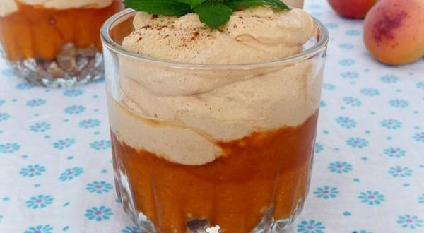 Sárgabarackos pohárkrém Gizi konyhájából