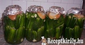 Hagyományos kovászos uborka