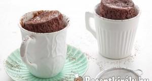 10 perces bögrés süti
