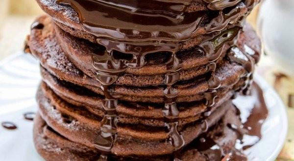 Csokoládés amerikai palacsinta