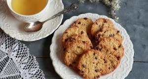 Ropogós mandulás keksz