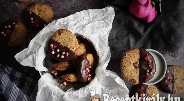 Mogyoróvajas csokis keksz