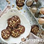 Sós mogyorós brownie keksz